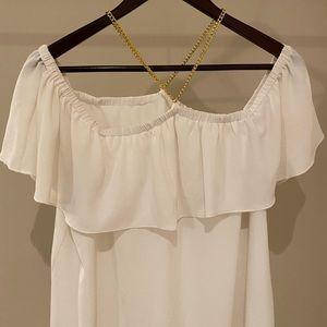 Michael Kors chain blouse